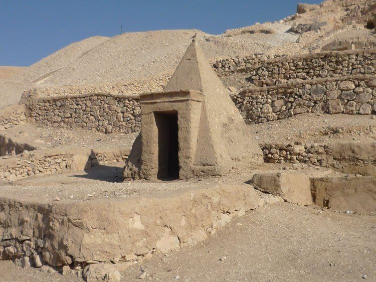 Deir Al Maadina in the West Bank of Luxor, Egypt - Photo credit Ancient History Encyclopedia