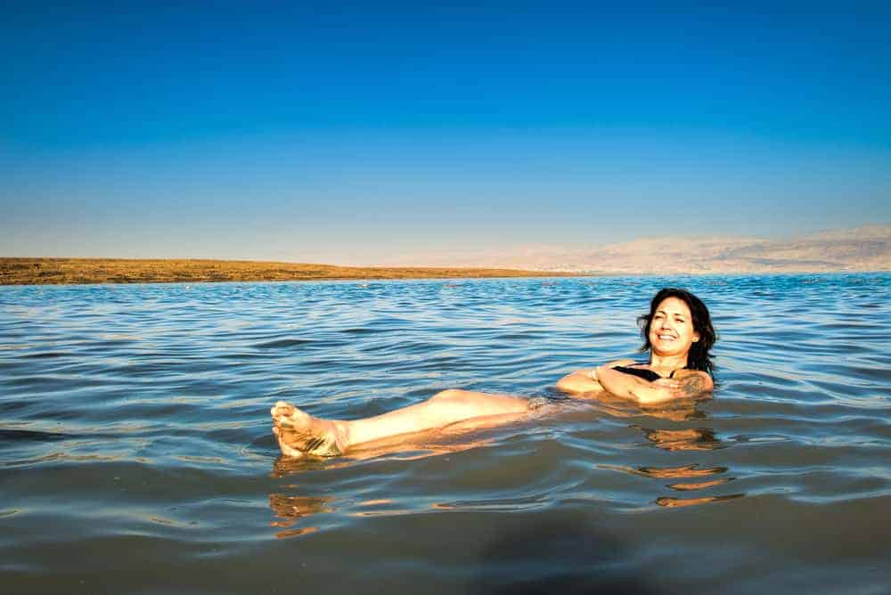 The Dead Sea always comes on top of any list for Jordan tourist attractions