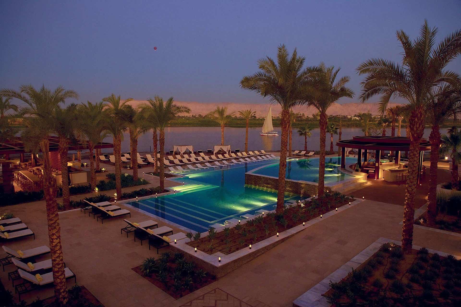 Hilton Resort in Luxor