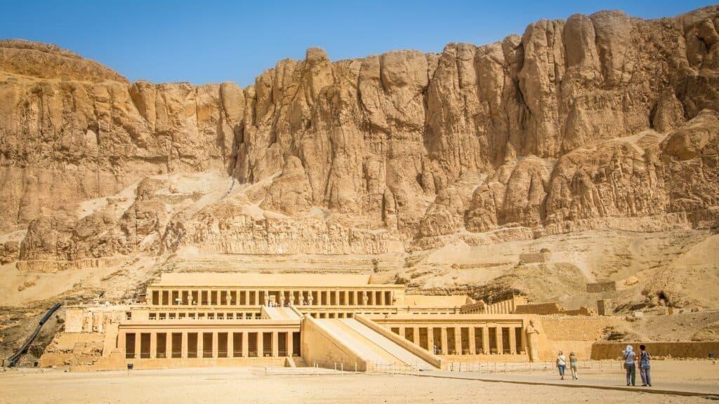 Queen Hatshepsut Temple in the West Bank of Luxor
