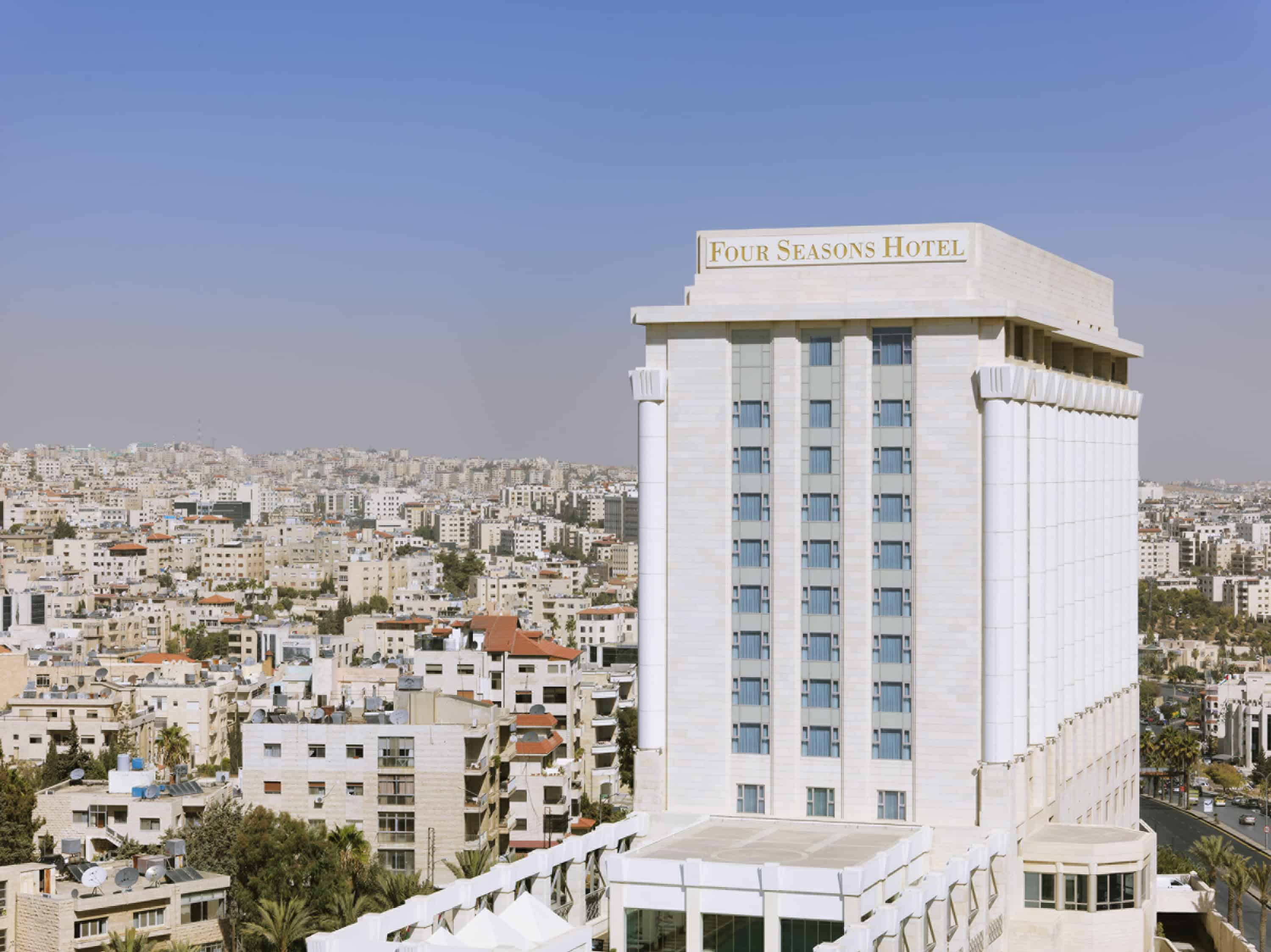 Four Seasons Amman - Photo Credit: Four Seasons Amman