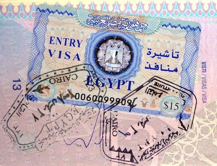Egypt Entry Visa