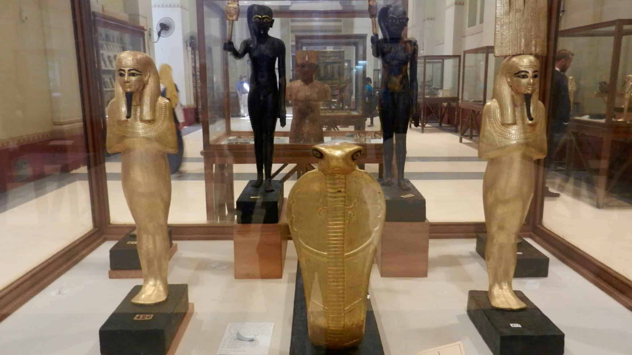 The cobra in the Egyptian Museum