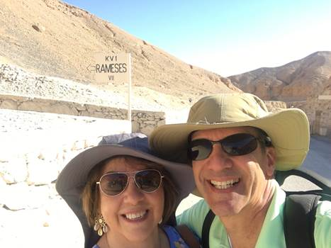 Happy clients with Osiris Tours