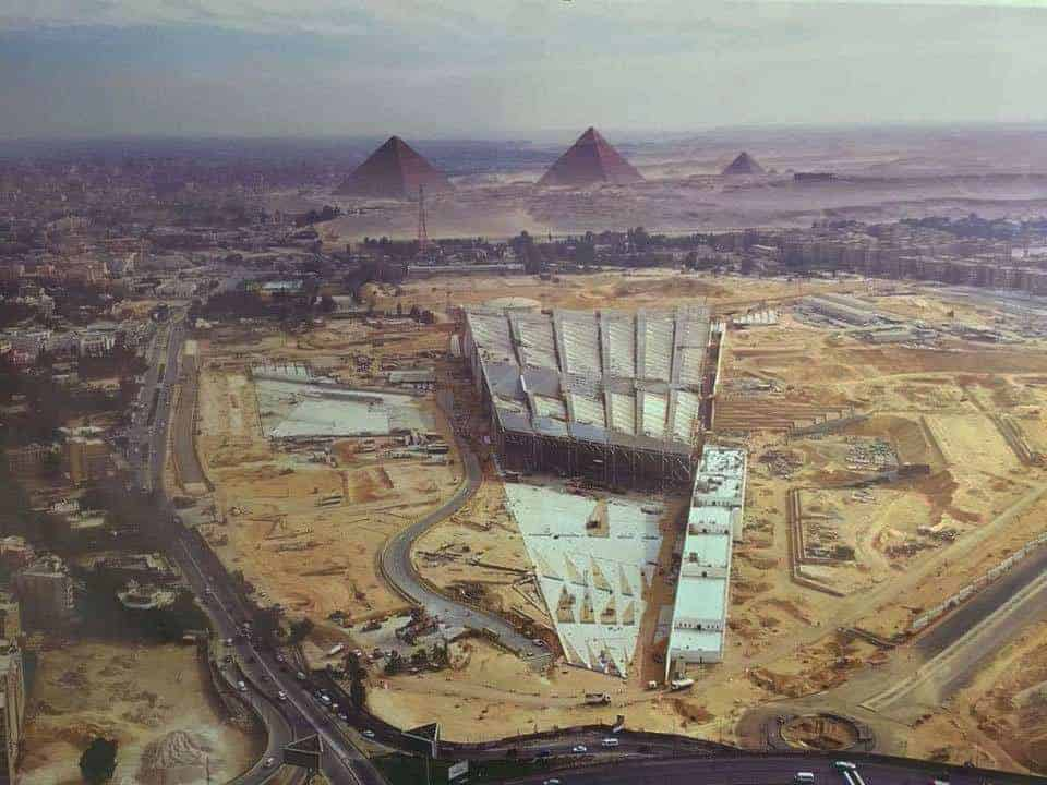 The Grand Egyptian Museum p Photo: Reddit