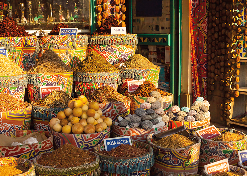 Spices Market in Aswan - Photo Credit: Cruise International
