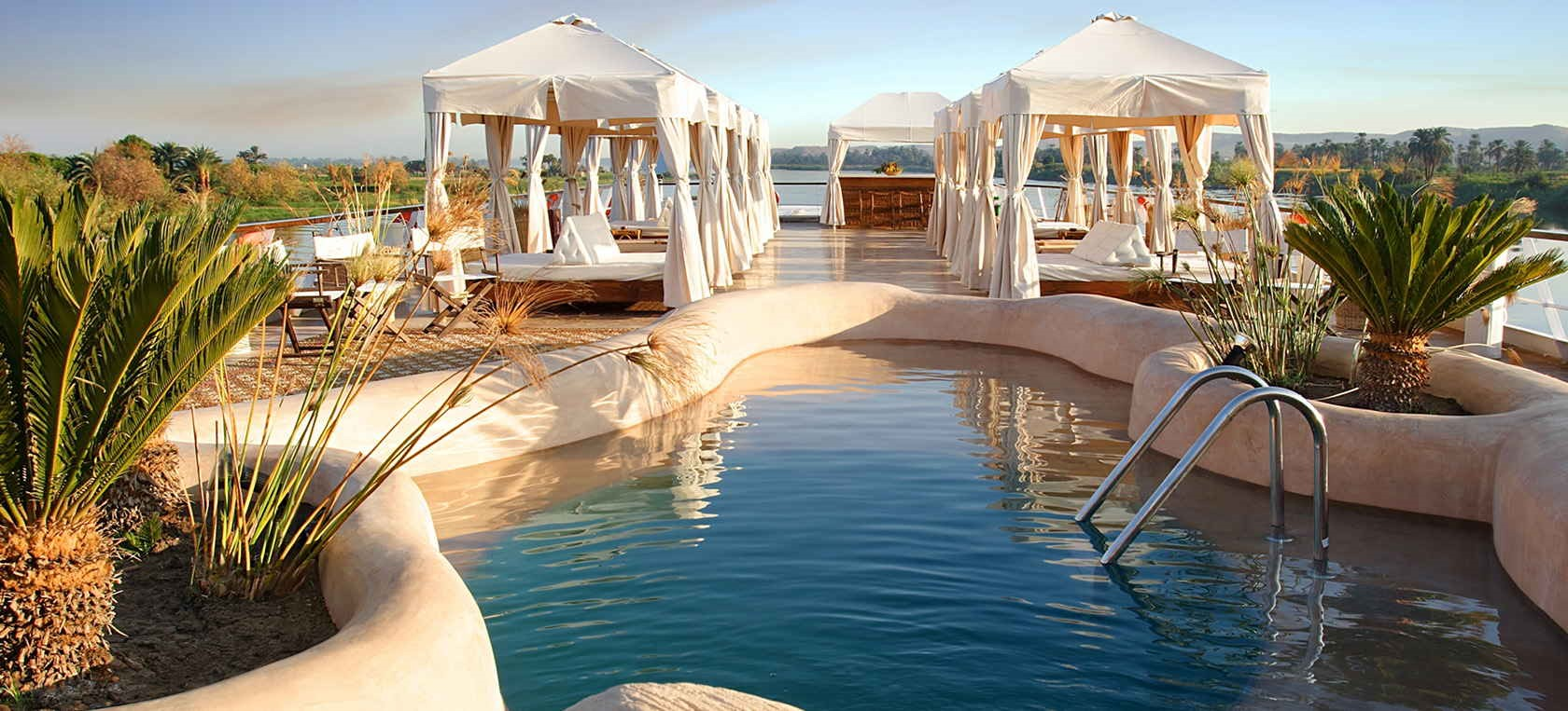 The Sanctuary Sun Boat is one of the best cruises in Egypt