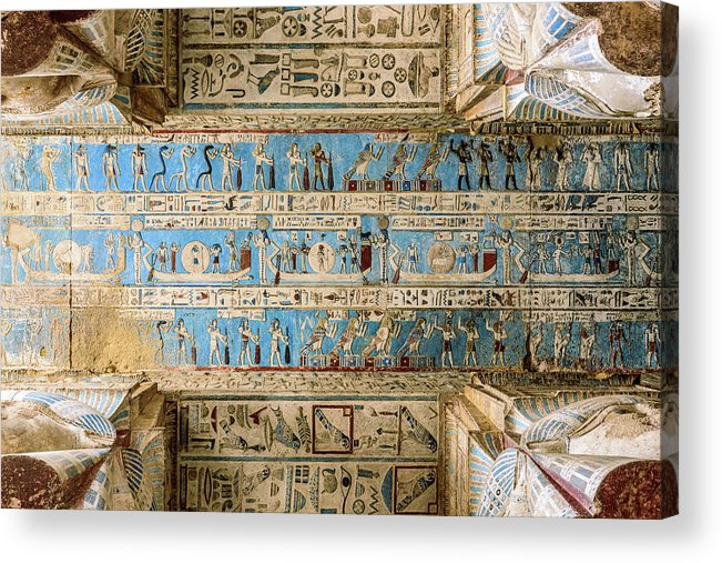 Dendera Temple - Photo Credit: Fine Art america