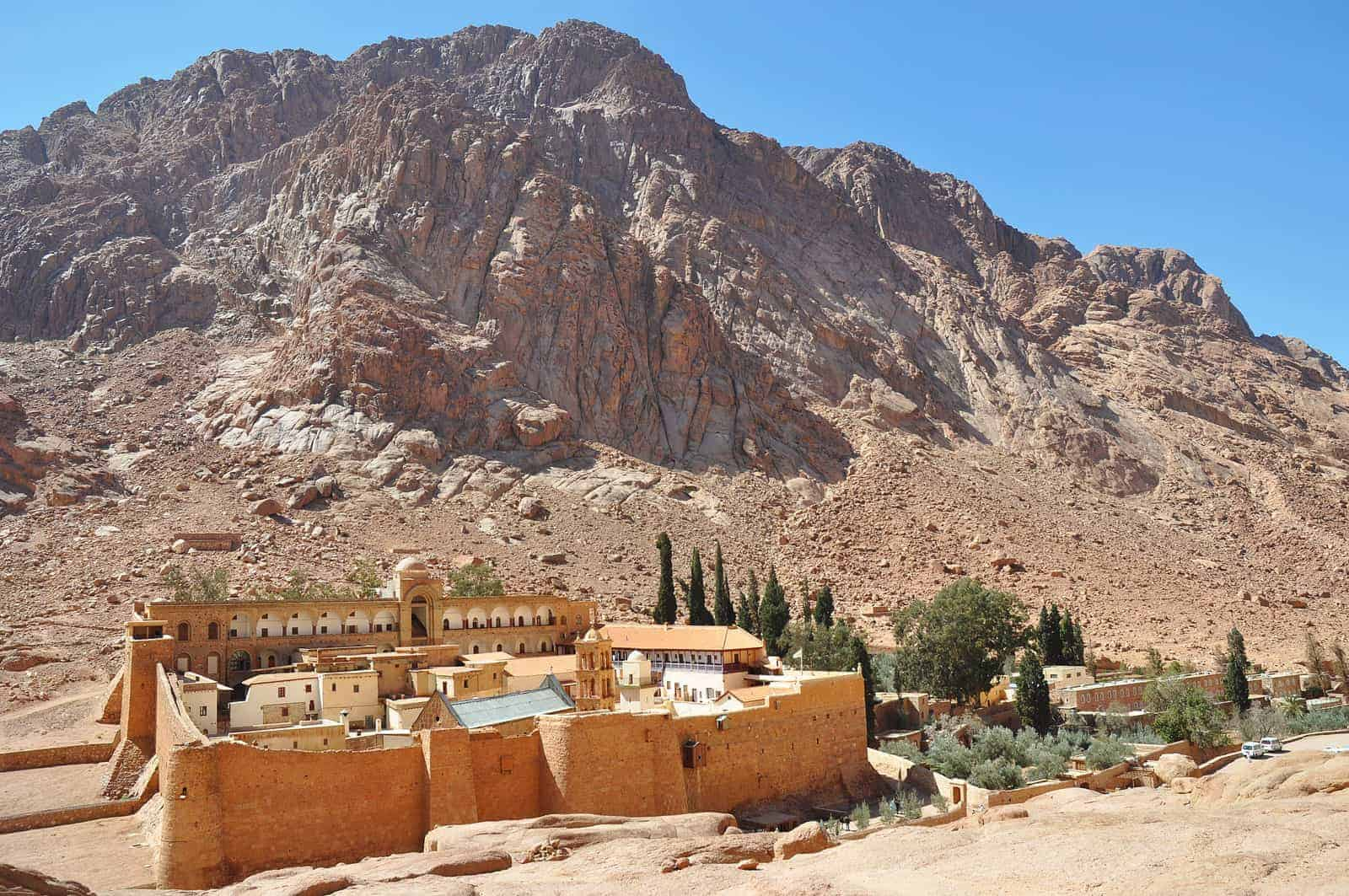 St. Catherine Monastery is one of the most amazing Christina monuments in Egypt - Photo Credit: Encyclopaedia Britannica