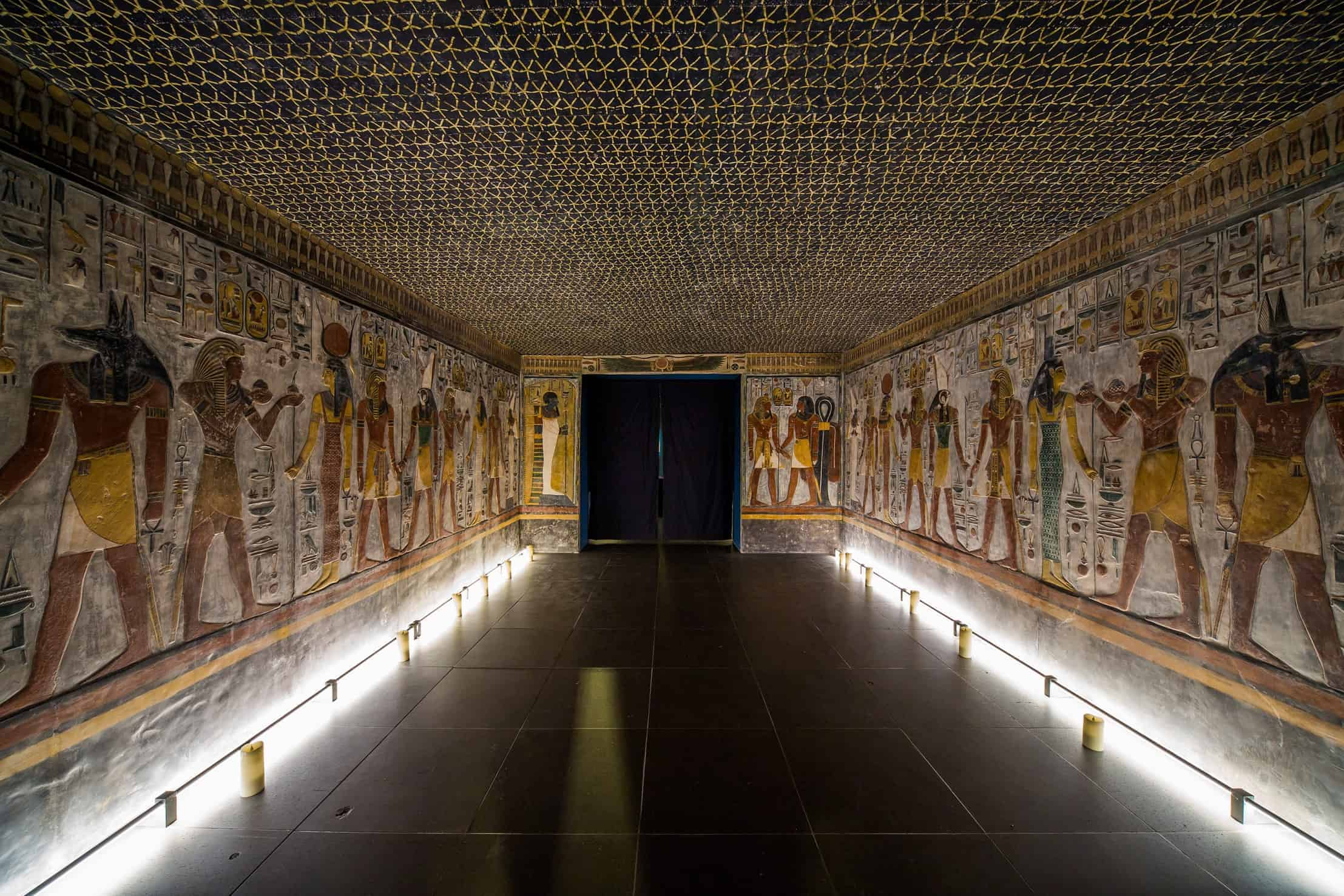 The Tomb of Seti I in the Valley of the Kings - Photo Credit: CNN