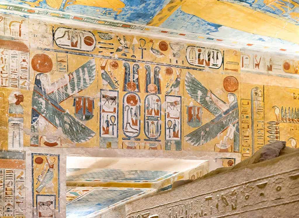The Tomb of Ramesses IV is one of the Best Tombs in the Valley of the Kings