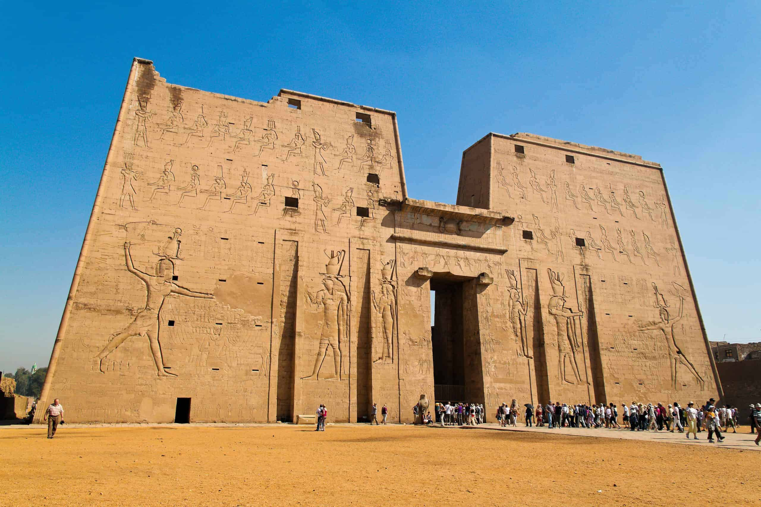 Edfu Temple - Photo Credit: Lonely Planet