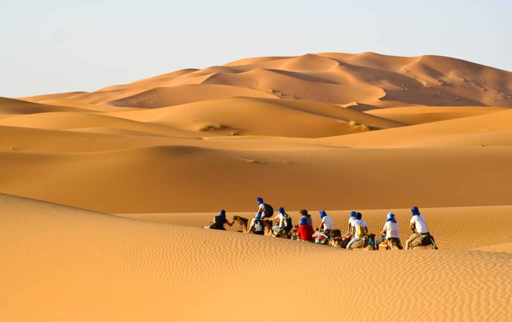10 amazing days in Morocco will include a desert tour