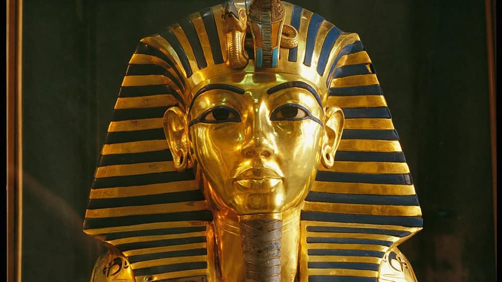 King Tutankhamen in Hollywood