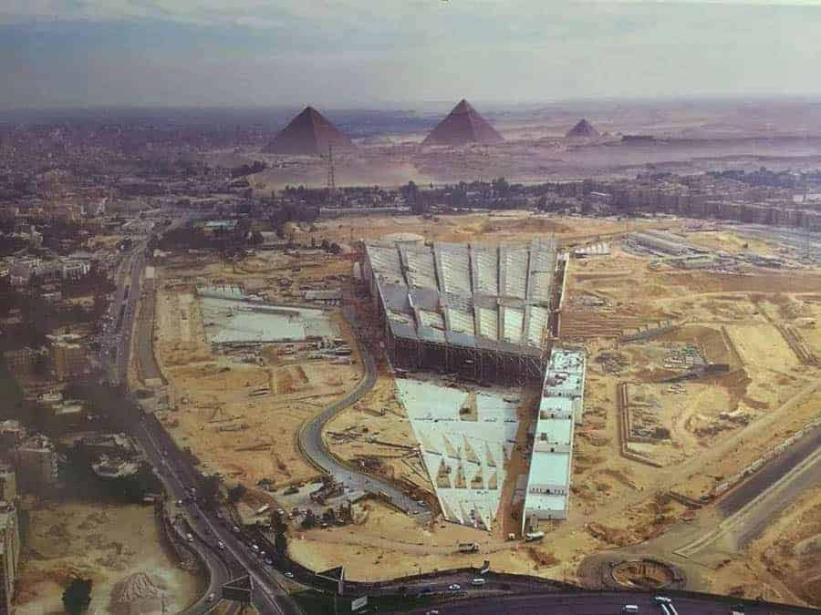 The Grand Egyptian Museum - Photo: Reddit