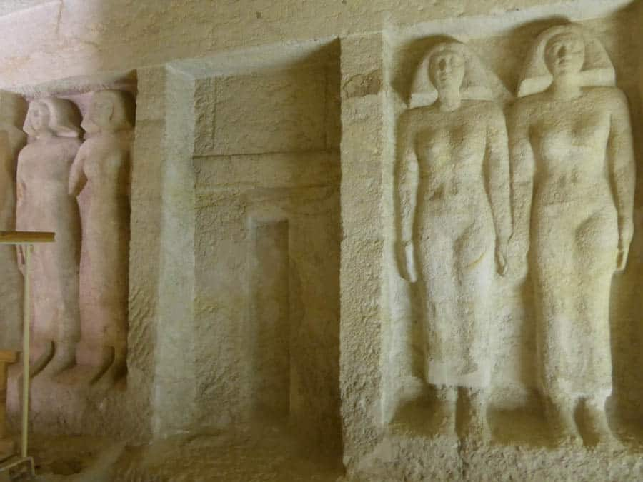 Explore the Tomb of Queen Meresankh III From Home During the COVID-19 Pandemic
