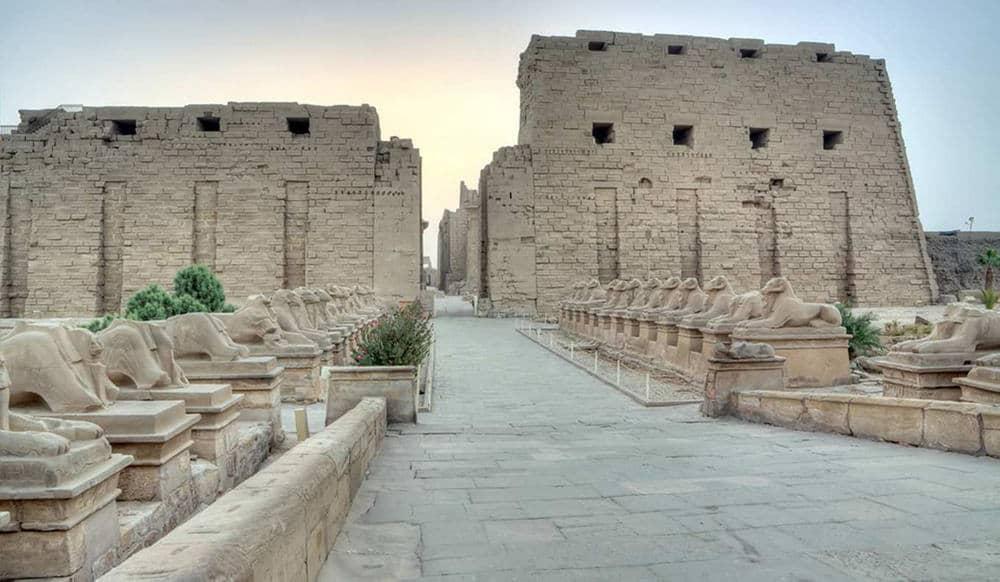 Karnak Temple, Home of God Amun Ra