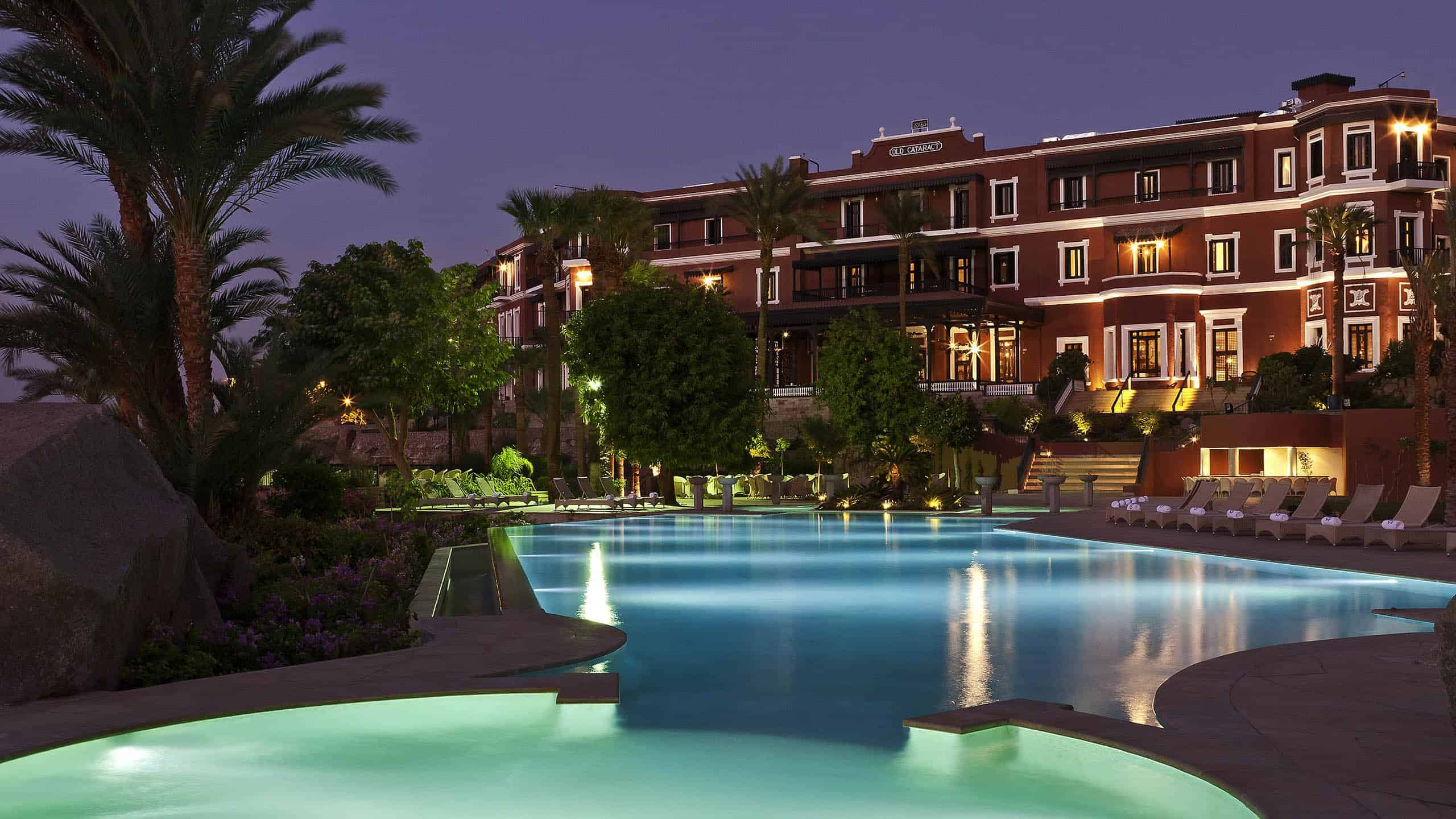 One of the best hotels in Aswan, Old cataract