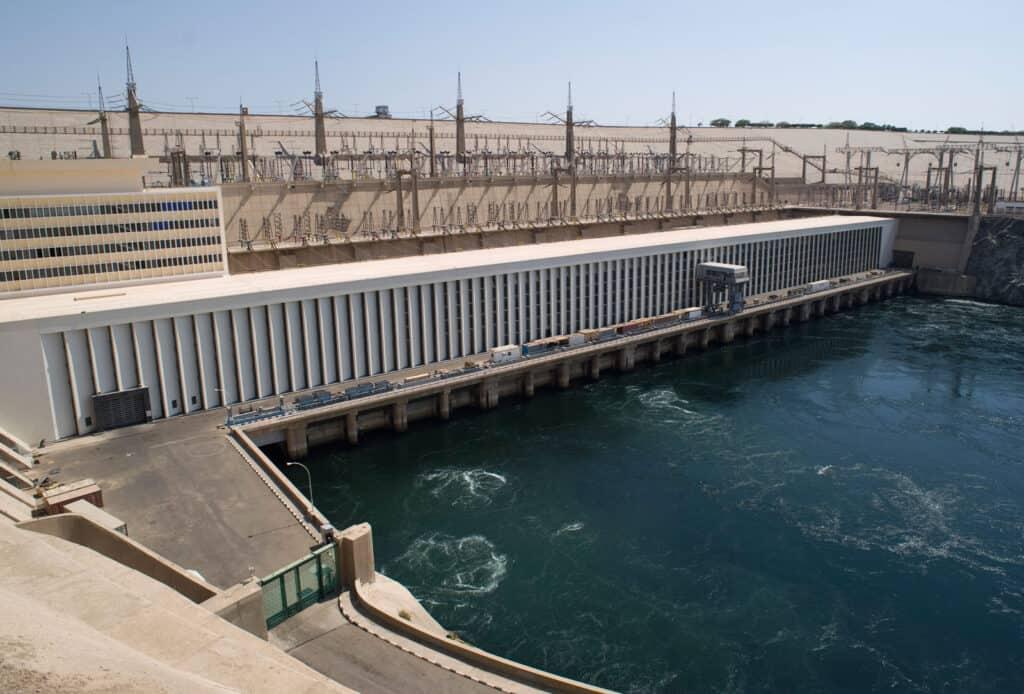 The High Dam in Aswan