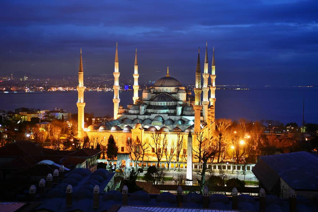 Blue Mosque, Istanbul Turkey
