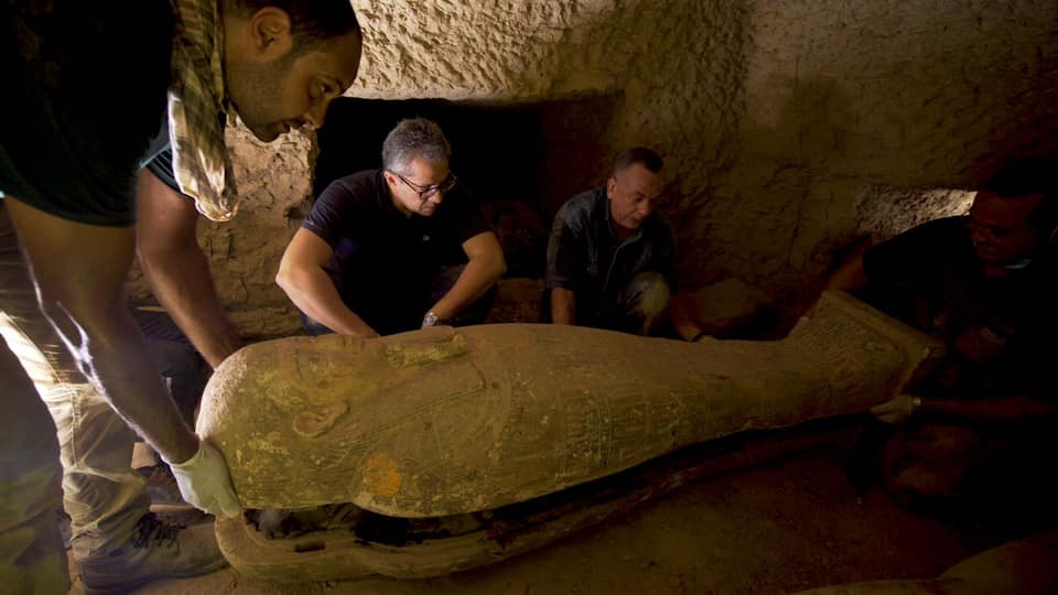 Excitement in Egypt: A New Discovery in Saqqara and the Re-Opening of Tourism