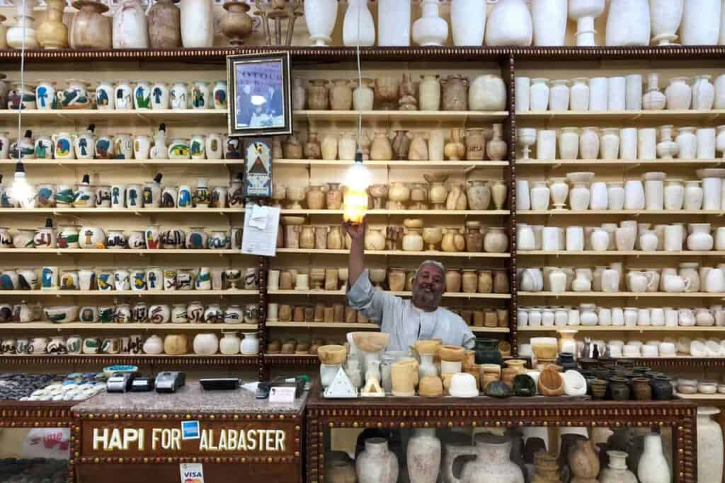 A Guide to Shopping in a Market in Egypt