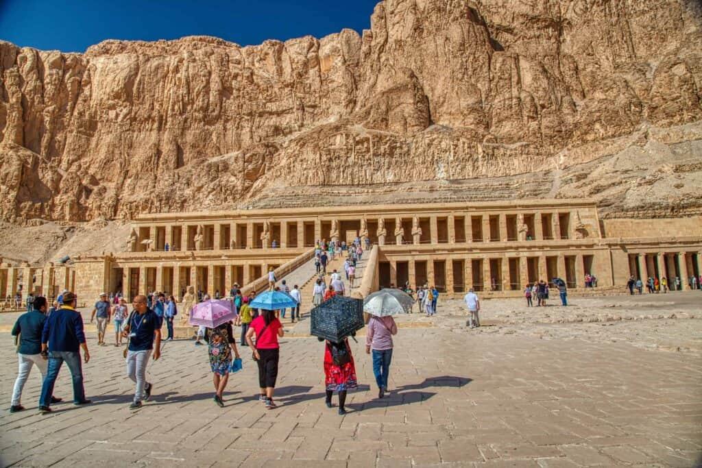 The Mortuary Temple of Hatshepsut, Upper Egypt