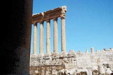 Jupiter Temple, Baalbek (Heliopolis), Lebanon