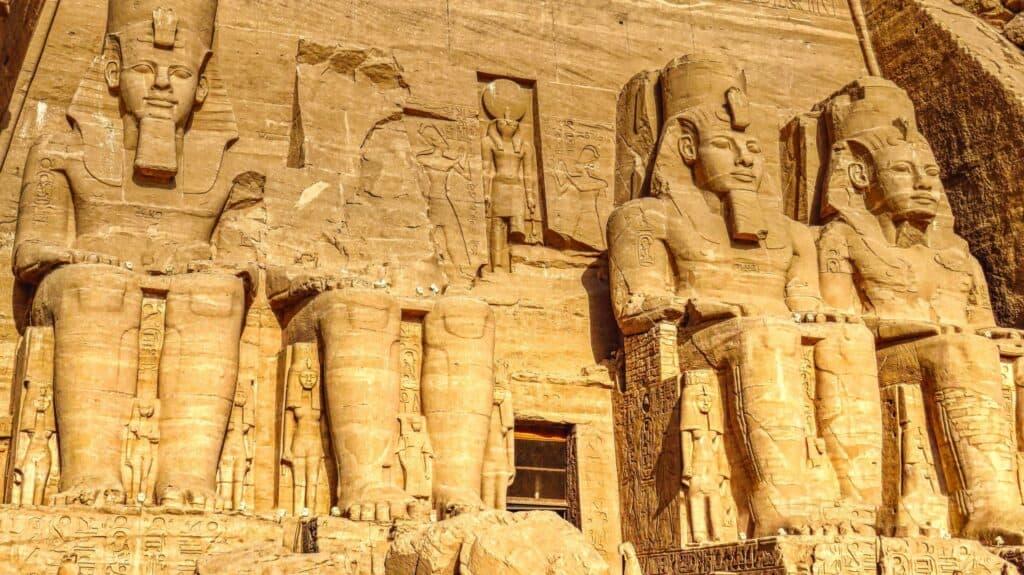 Statues of Ramses, Abu Simbel Temple