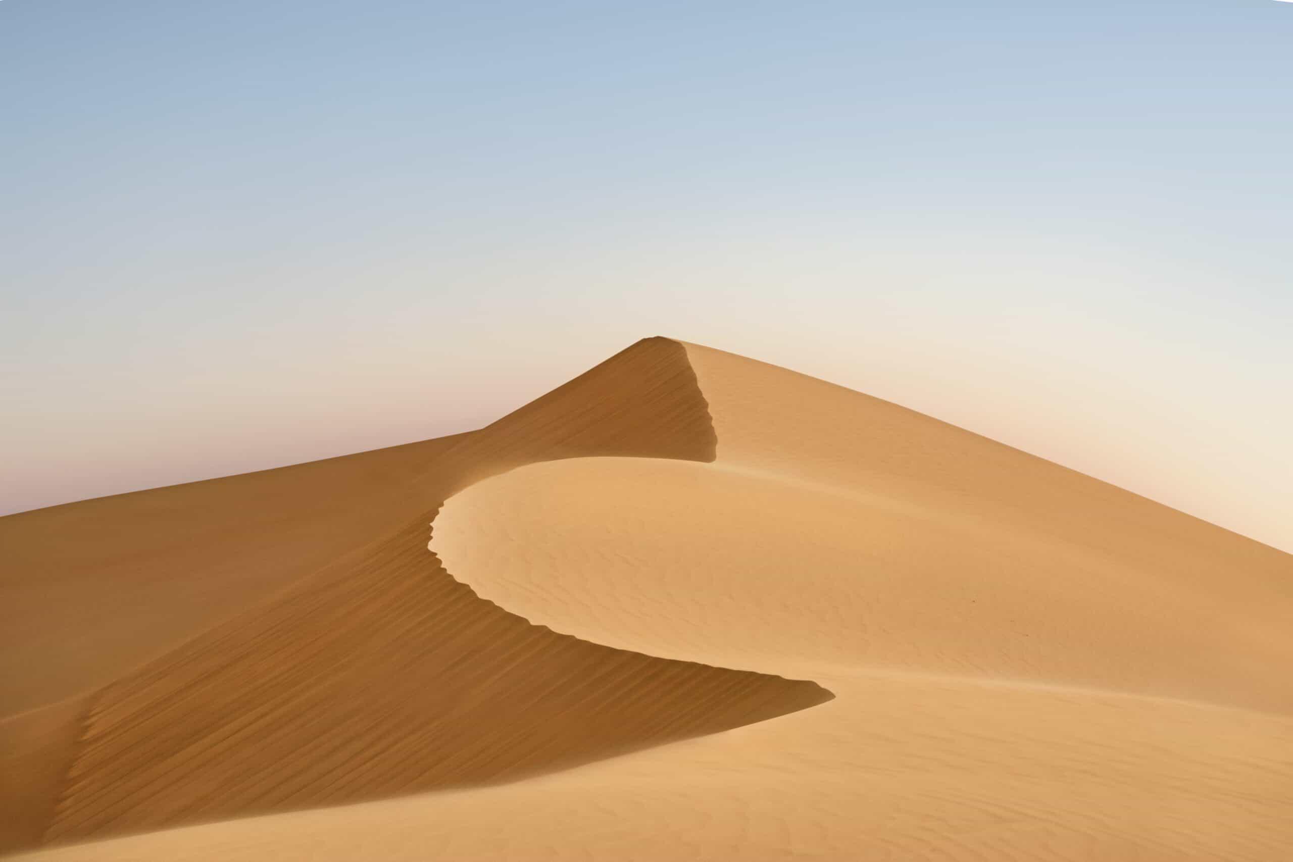 Sand Dune, Dubai, UAE