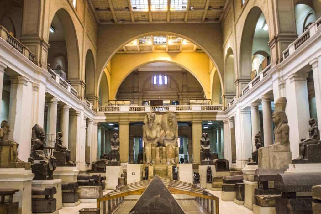 Museum of Egyptian Antiquities, Cairo, Egypt