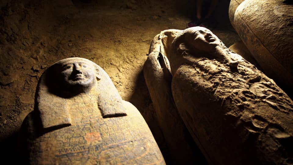 A new discovery in Saqqara Egypt, September 2020