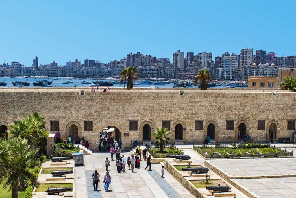 Alexandria Skyline from Qaitbay Citadel