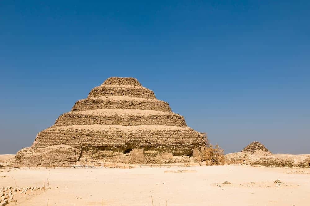 Djoser Step Pyramid in Saqqara, Egypt