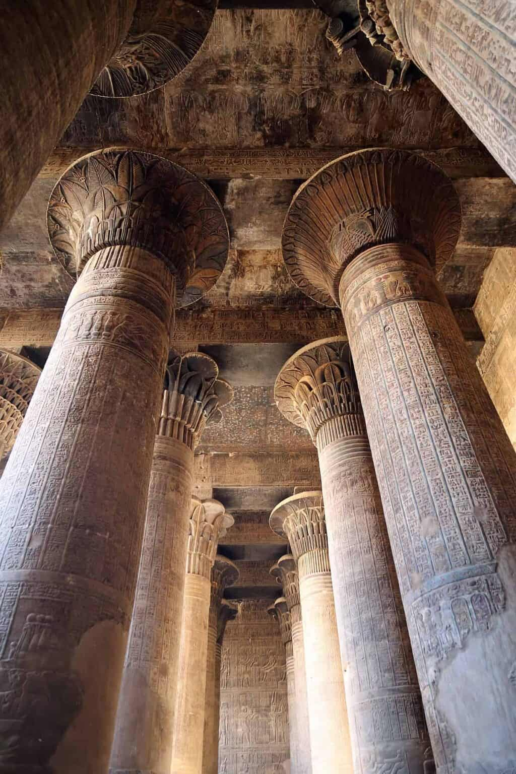 Esna is one of the most beautiful temples in Upper Egypt