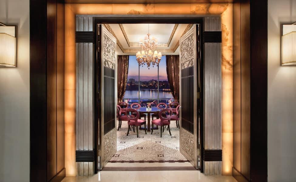 Fairmont Nile City Hotel, Cairo - Lounge entrance
