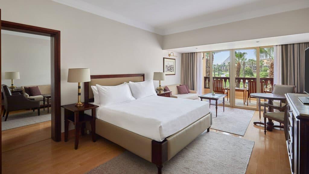 Marriott Mena House Pyramid Suite
