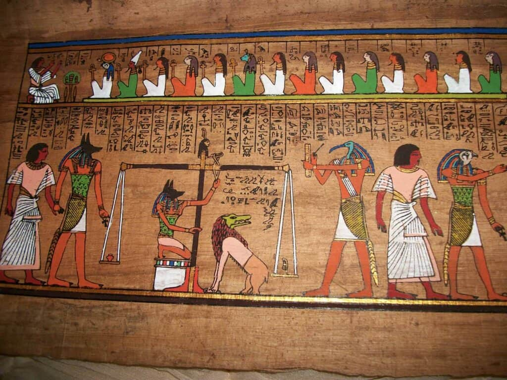 Visiting a Papyrus factory is one of the most interesting shopping experiences in Egypt