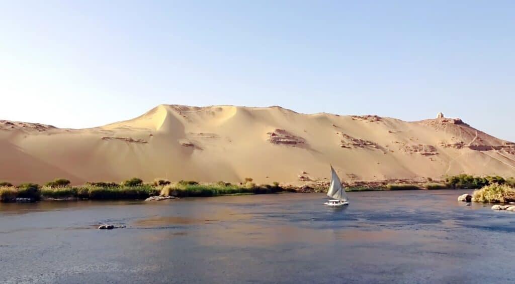The Nile River, Egypt